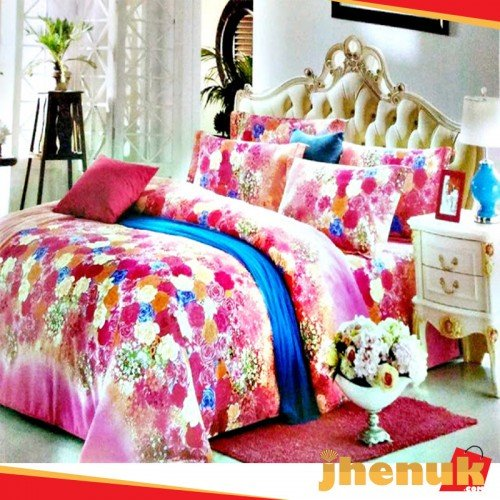 Printed Chinese Bed Sheet