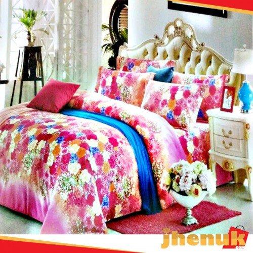 Printed Chinese Bed Sheet