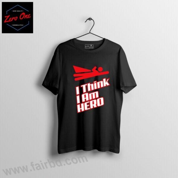 T-shirt for boy-I am Hero